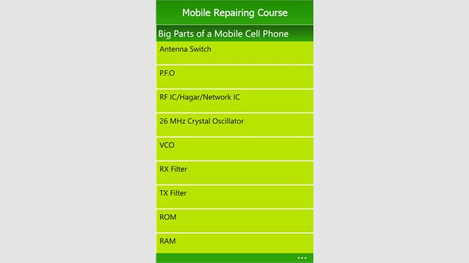 Get Mobile Repairing Course - Microsoft Store