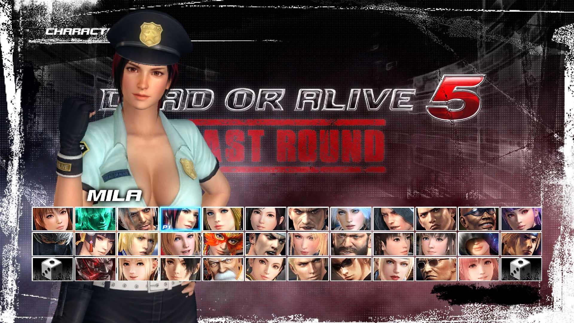 DEAD OR ALIVE 5 Last Round - Police Mila