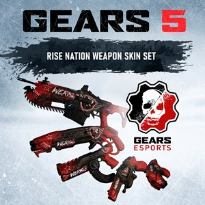 Gears 5 Esports - Rise Nation 装備セット Xbox One