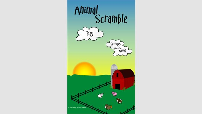 Get Animal Scramble - Microsoft Store