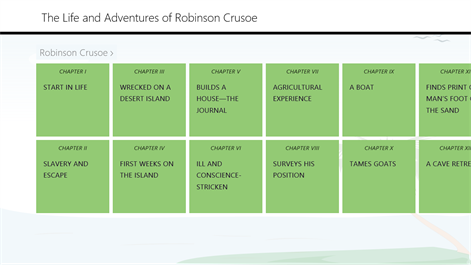 The Life and Adventures of Robinson Crusoe By Daniel Defoe Screenshots 1