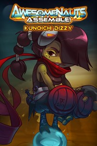 Carátula del juego Kunoichi Dizzy - Awesomenauts Assemble! Skin