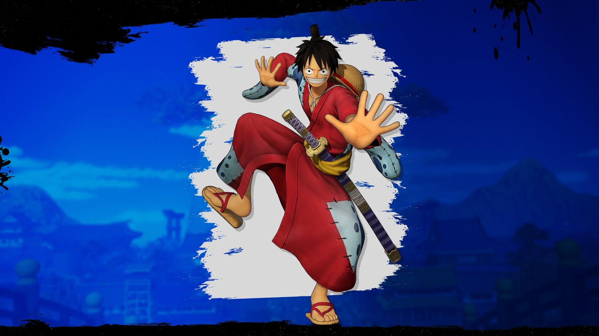 "ONE PIECE: PIRATE WARRIORS 4 Luffy Costume ""Luffytaro"""