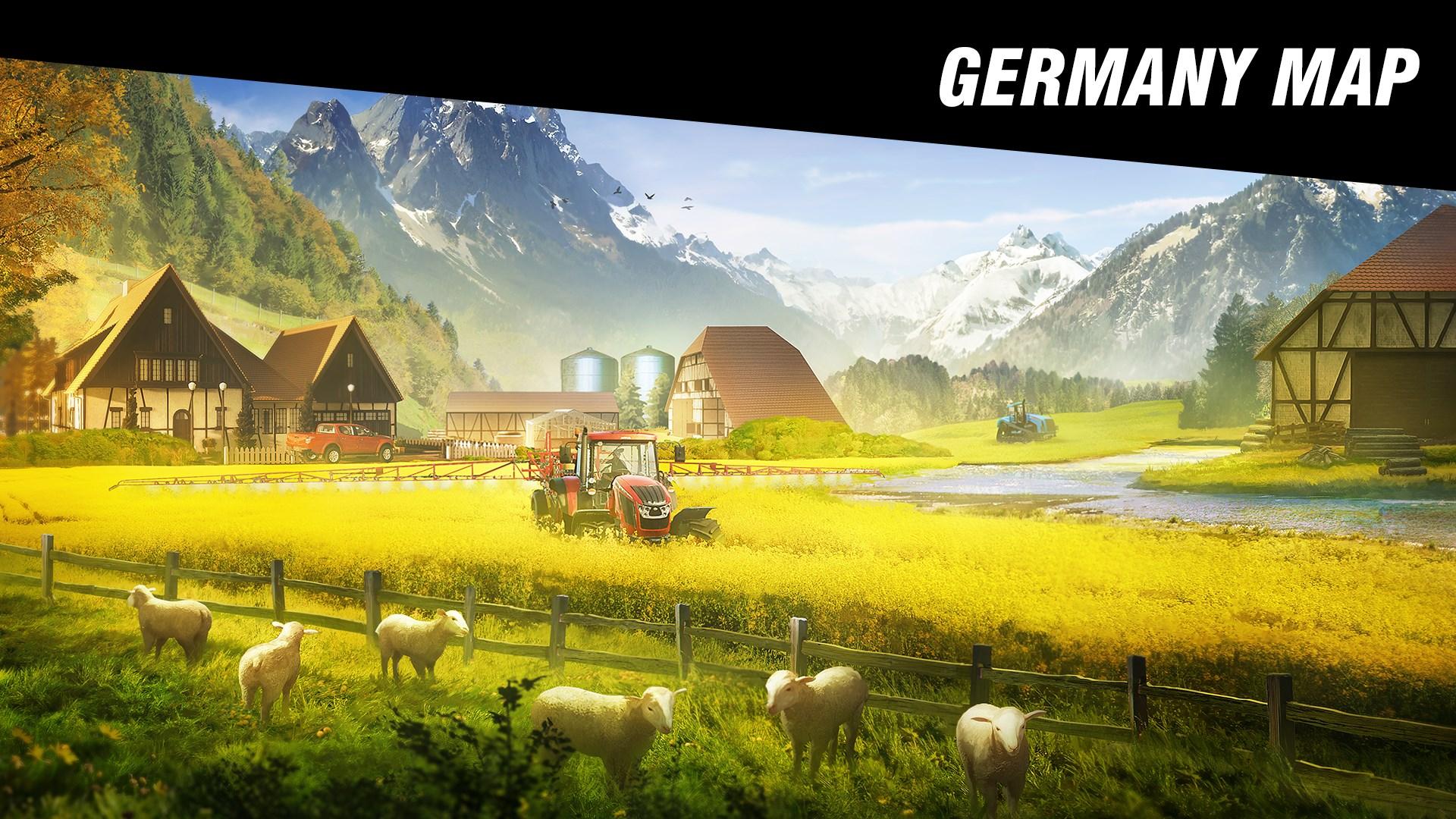 Pure Farming 2018 – Spielbereich Deutschland