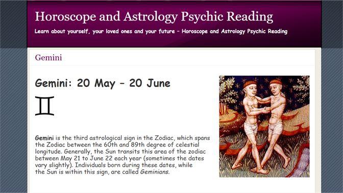 Get Gemini Horoscope and Astrology - Microsoft Store