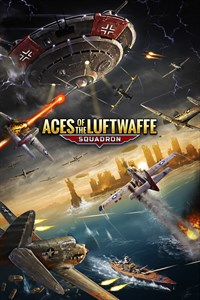 Carátula del juego Aces of the Luftwaffe - Squadron