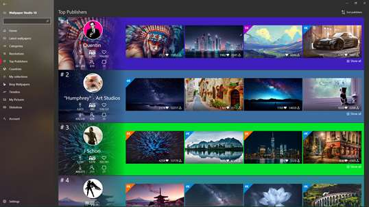 Wallpaper Studio 10 screenshot 6