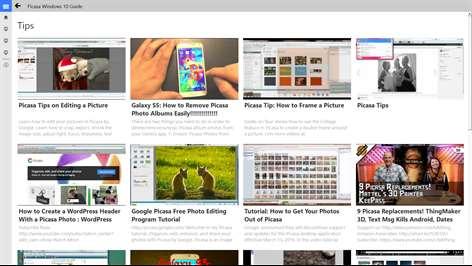 Picasa Windows10 Guide Screenshots 2