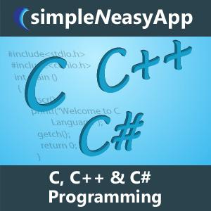 C, C++ & C# Programming