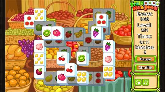 Fruit Mahjong' screenshot 2