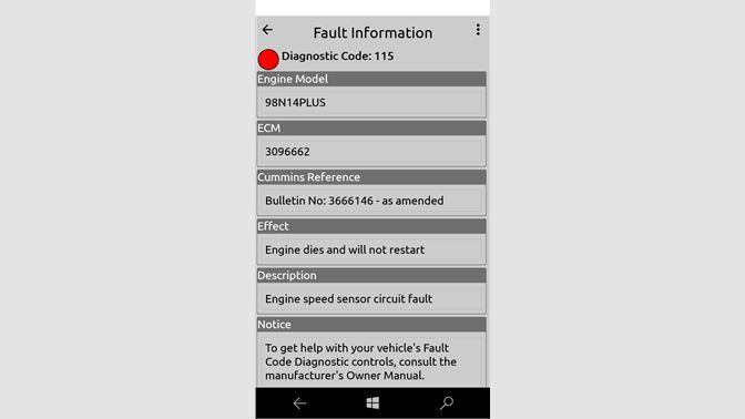Get Cummins Fault Codes - Microsoft Store en-ET