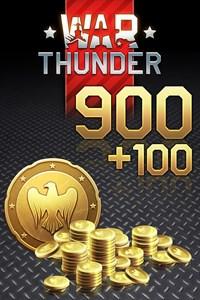 War Thunder - 900 (+100 Bonus) Golden Eagles