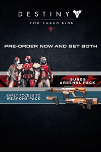 Destiny: The Taken King - Weapons Pack and SUROS Arsenal Pack