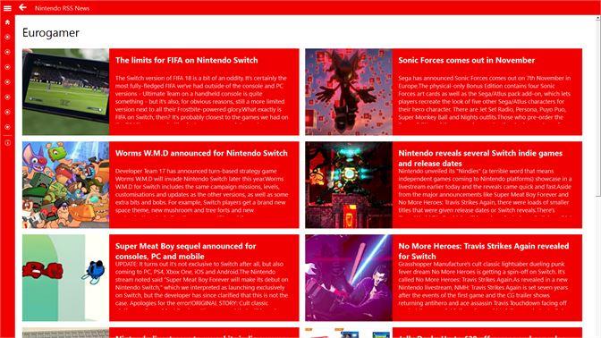 Get Nintendo RSS News - Microsoft Store xh-ZA