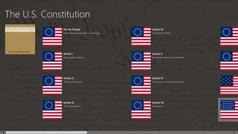 U.S. Constitution Screenshots 1