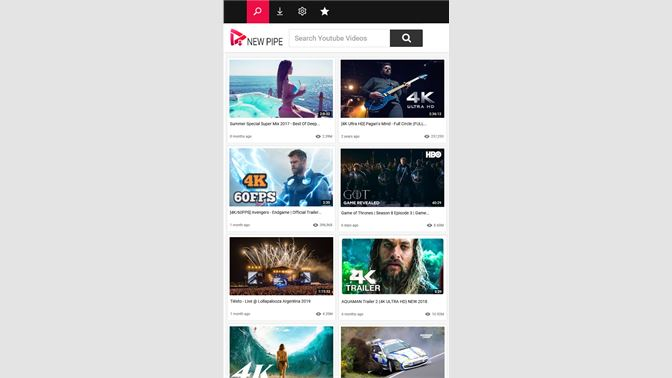 Get New Pipe YouTube Downloader for 4K Videos  Free MP3 & MP4