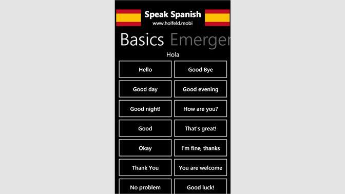 Buy Speak Spanish Microsoft Store