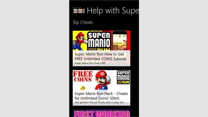 Buy Help with Super Mario Run - Microsoft Store en-SA