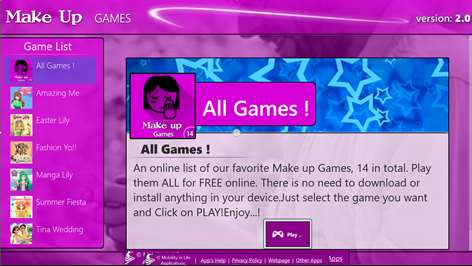 Online Games+ (Make-Up) Screenshots 1