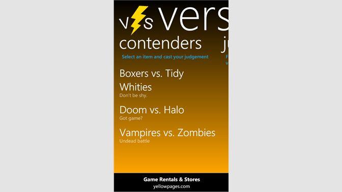 Get Versus - Microsoft Store