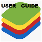 BlueStacks App Advanced Guide Logo
