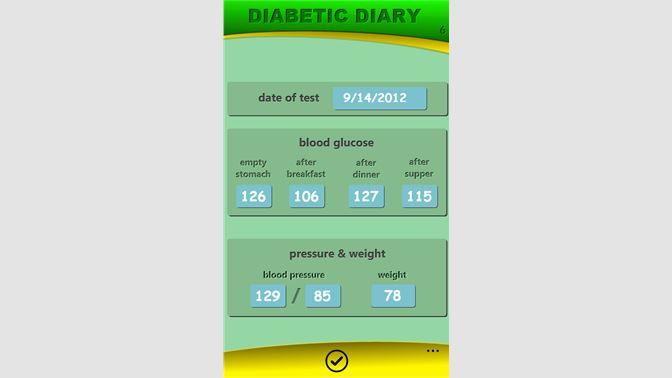Buy Diabetic Diary - Microsoft Store en-SA