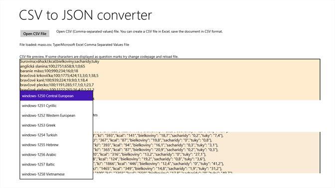 Get CSV to JSON Converter - Microsoft Store