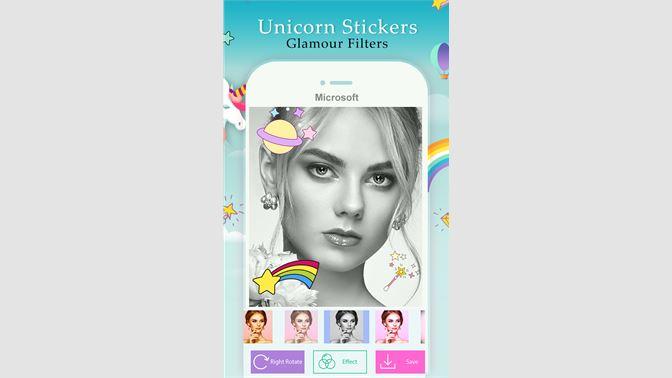 Get Unicorn Photo Stickers Cute Photo Editor For Girls - Microsoft Store