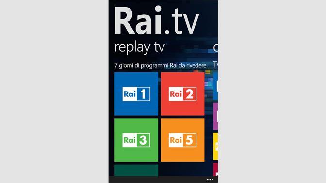 a402ef81bad Get Rai.tv - Microsoft Store