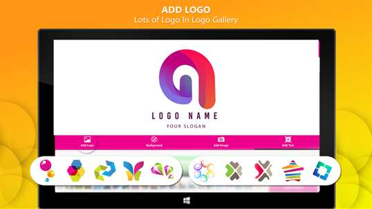 Logo Maker with Graphic Design and Ads Designer screenshot 2