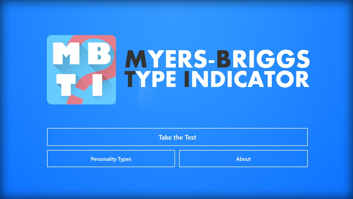understanding the concept of myers briggs type indicator test Information on the myers-briggs type indicator test, also known as the mbti test, including history, general information, and validity they have a core need for mastery of concepts, competence and knowledge they are not simply interested in facts, but instead want to understand the operating.