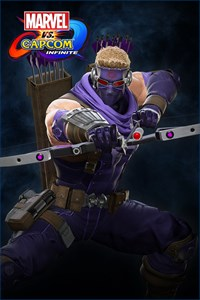 Carátula del juego Marvel vs. Capcom: Infinite - Ultimate Hawkeye Costume