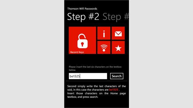 Get Wifi Passwords - Microsoft Store
