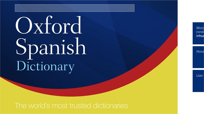 Buy Oxford Spanish Dictionary - Microsoft Store