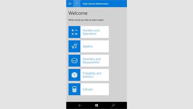 Get Microsoft Math - Microsoft Store