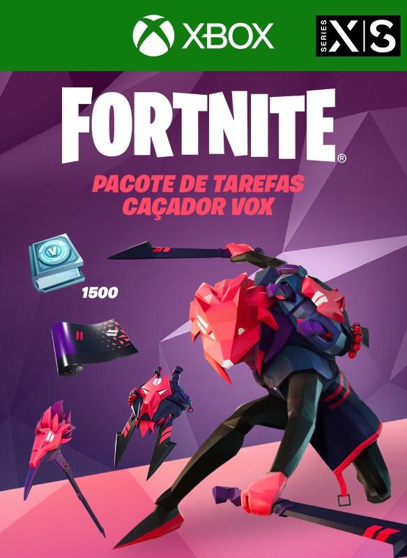 Fortnite - Vox Hunter's Quest Pack