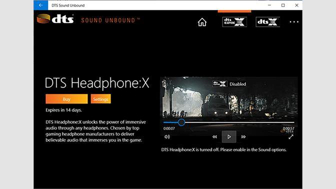 Recevoir DTS Sound Unbound - Microsoft Store fr-BE