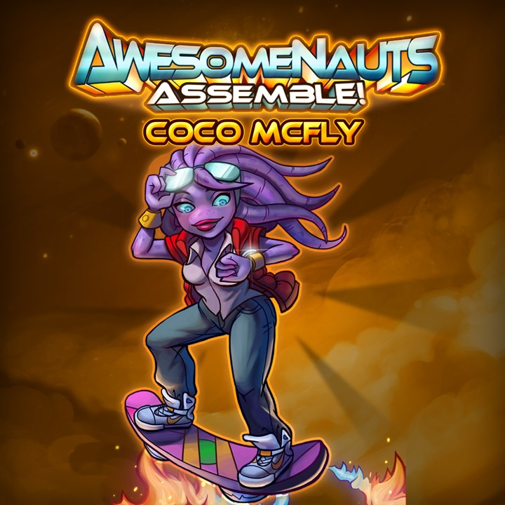 Awesomenauts - coco mcfly skin download free. full