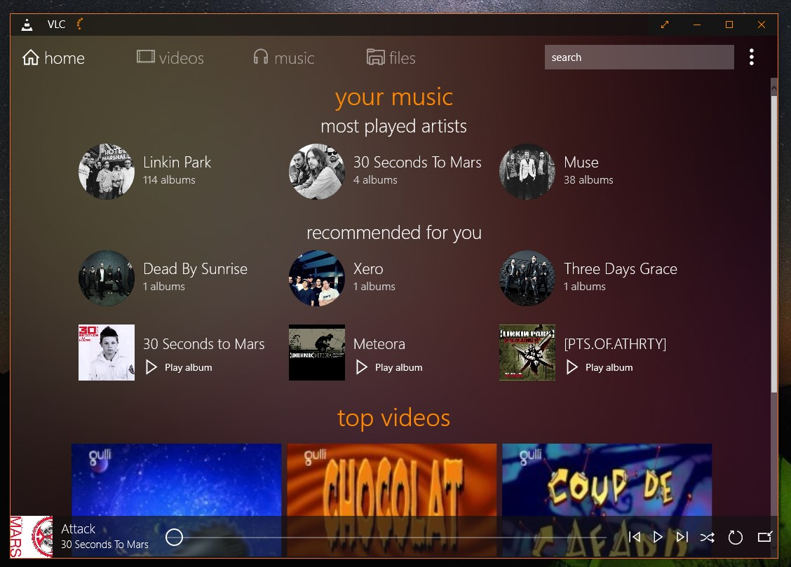 VLC for Windows Store