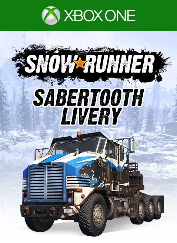 Скриншот №5 к SnowRunner - Derry Longhorn 4520 Sabertooth Livery