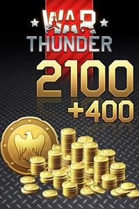 War Thunder - 2100 (+400 Bonus) Golden Eagles