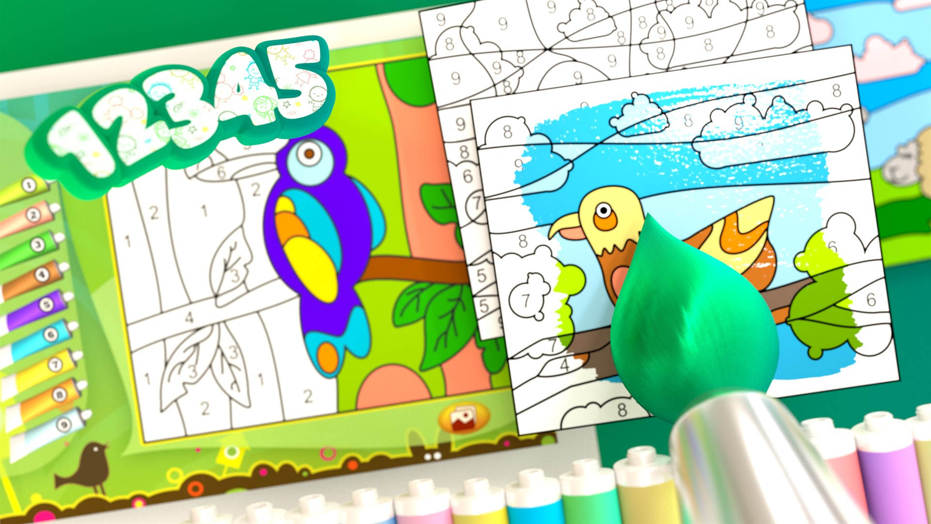 Get Animals - Color by Numbers - Microsoft Store en-GB