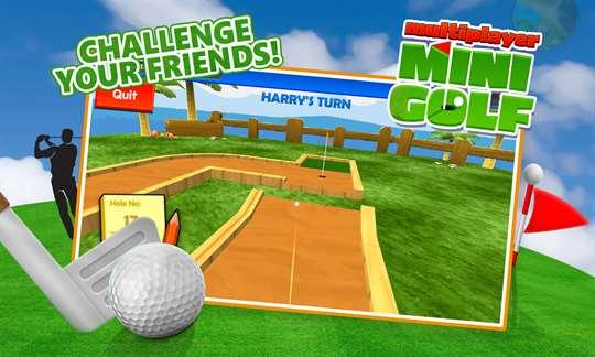 Minigolf Multiplayer Online Free