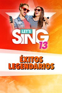 Let's Sing 13 - Éxitos legendarios Song Pack