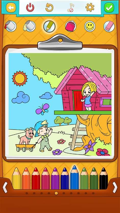 Ausmalbilder Spiel für Kinder - Malvorlagen Kinder beziehen ...