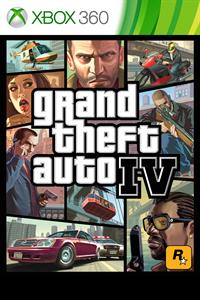 Carátula para el juego Grand Theft Auto IV de Xbox 360