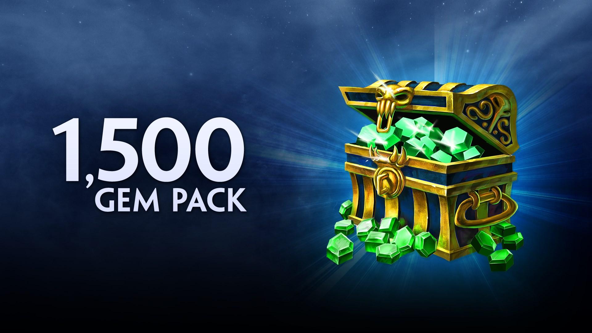 1500 Gems