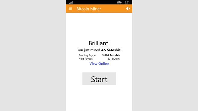 Get Bitcoin Miner - Microsoft Store