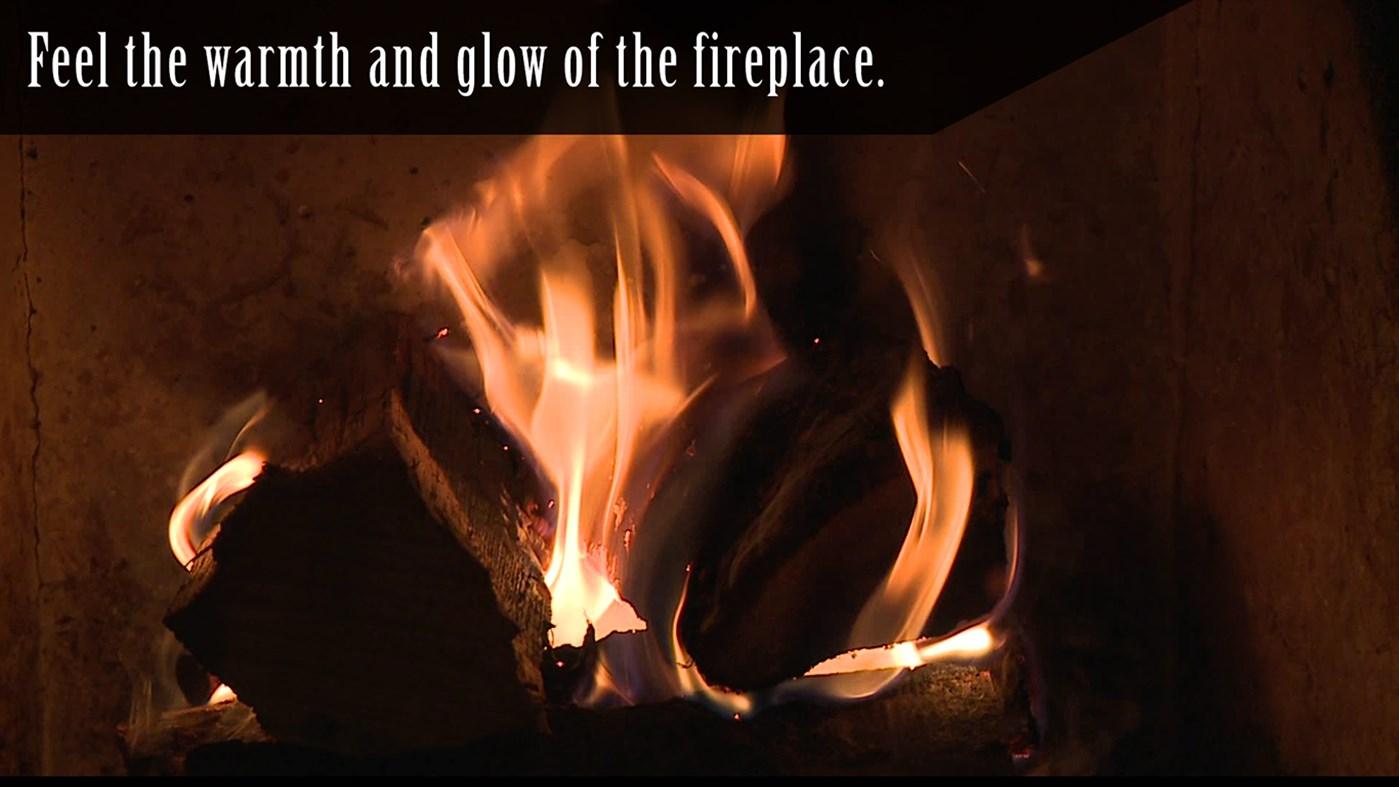 Virtual Fireplace screenshot
