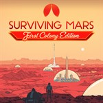 Surviving Mars - First Colony Edition Logo